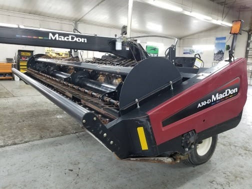 Photos of 2011 MacDon A30 Windrower-Pull Type For Sale