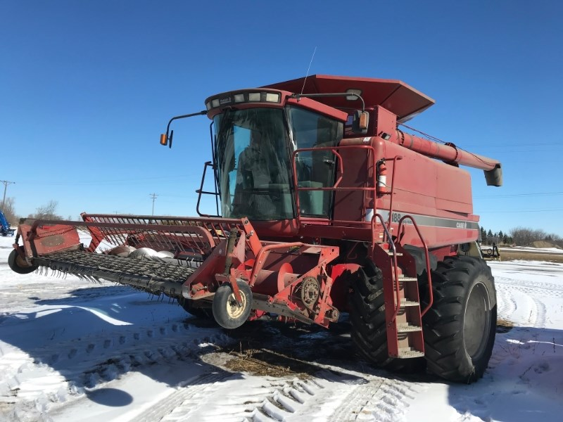 1996 Case 2188 Combine For Sale