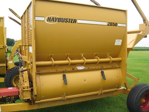 Bale Processor For Sale:  2006 Haybuster 2650
