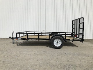 2018 Top Hat 7712 Utility Trailer For Sale