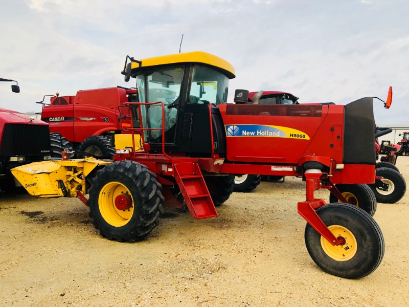 2012 New Holland H8060 Windrower-Self Propelled For Sale