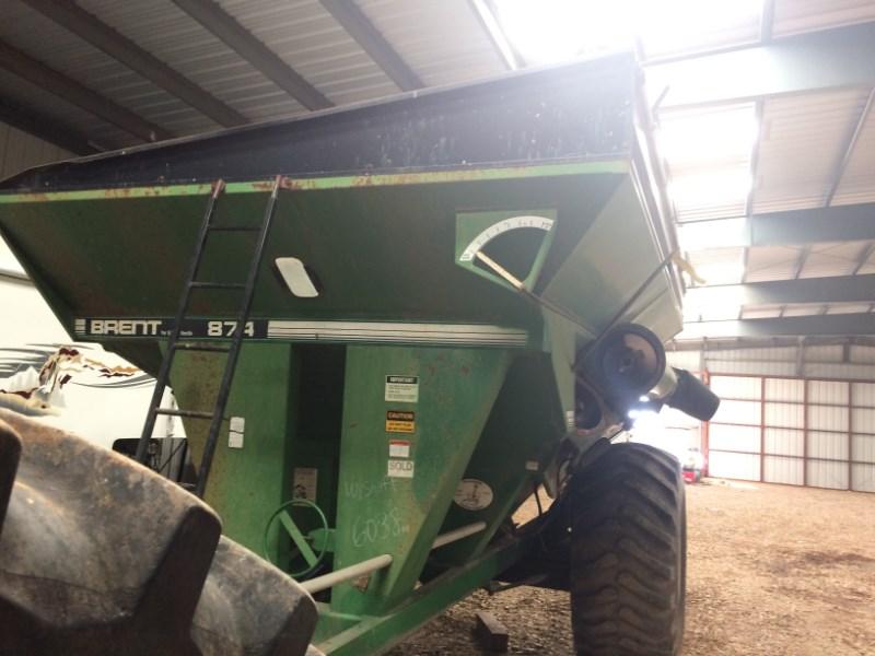 1998 Brent 874 Grain Cart For Sale
