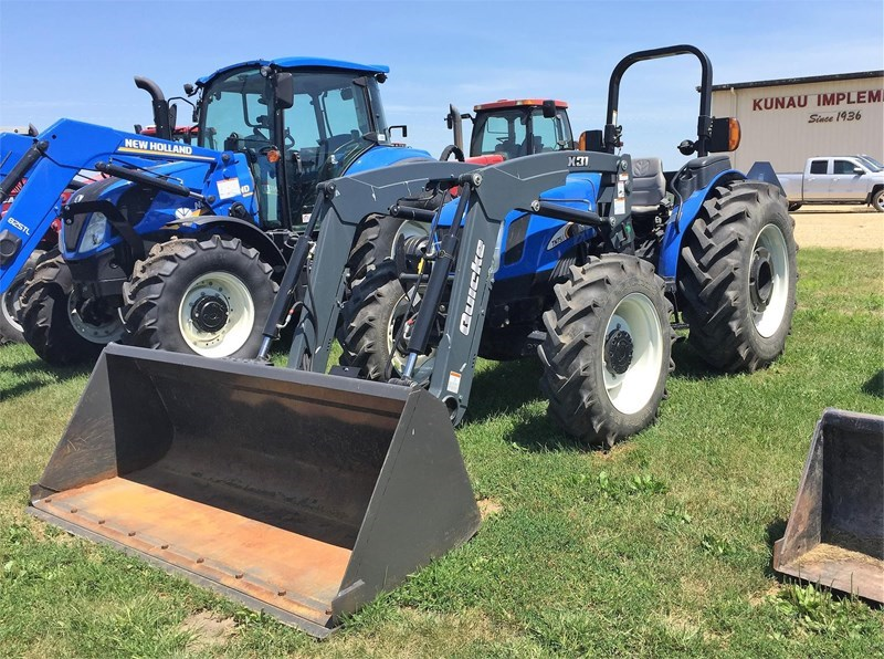 2007 New Holland TN75A Tractor For Sale