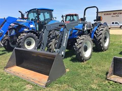 Tractor For Sale 2007 New Holland TN75A , 75 HP