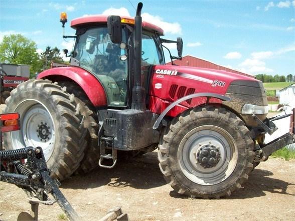 2015 Case IH PUMA 240 CVT Tractor