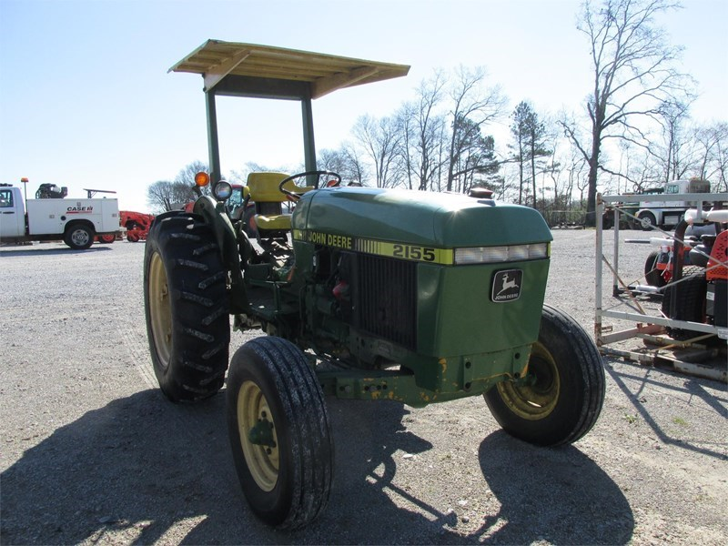 1989 John Deere 2155 Tractor For Sale