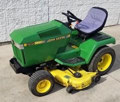 Riding Mower For Sale 1990 John Deere 285 , 18 HP