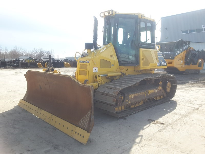 2011 Komatsu D51PX-22 Crawler Tractor For Sale
