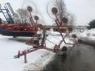 Hay Rake-Wheel For Sale:  1990 Tonutti V-10 10 W