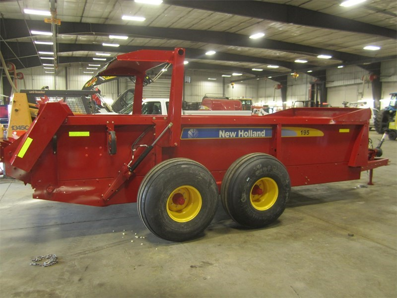 2018 New Holland 195 Manure Spreader-Dry For Sale