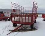 Bale Wagon-Pull Type For Sale: 2015 EZ Trail 9x18