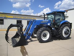 Tractor For Sale:  2016 New Holland T6.155 , 125 HP