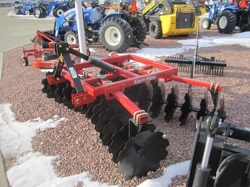 2018 Buhler Farm King Y705TD Disk Harrow For Sale