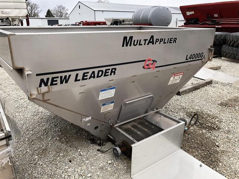 New Leader L4000G4 Dry Fertilizer-Transport Auger Trailer For Sale