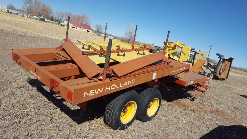 1996 New Holland 1036F Bale Wagon-Pull Type For Sale