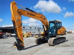 Excavator-Track  2017 Hyundai HX160L
