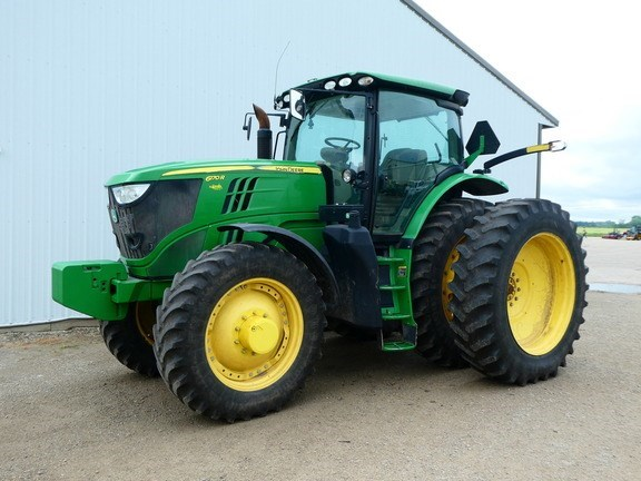 2012 John Deere 6170R Tractor - Row Crop For Sale