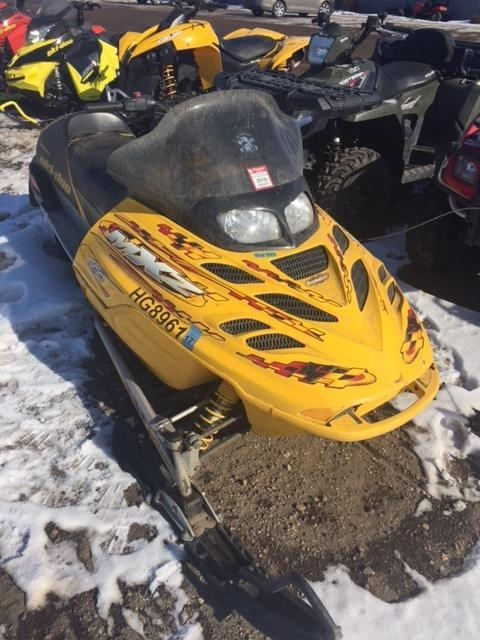 2002 Ski-Doo 2002 MXZ Sport 600 Snowmobile For Sale