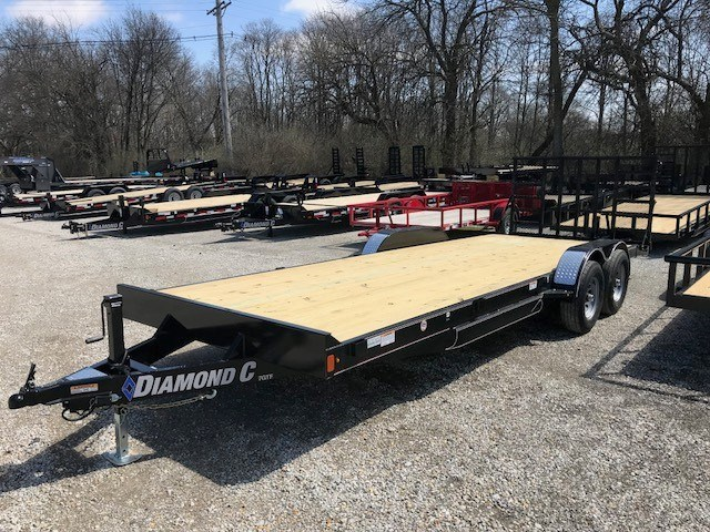 2018 Diamond C 7GTF-20X83 Equipment Trailer For Sale