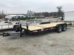 Equipment Trailer For Sale 2018 Diamond C 45HDT-20X82