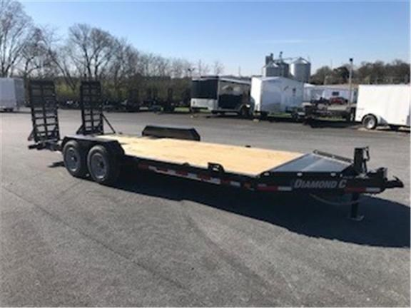 2018 Diamond C 19LPX-20X82 Equipment Trailer For Sale