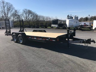 2018 Diamond C 18EEQ-20X82 Equipment Trailer For Sale