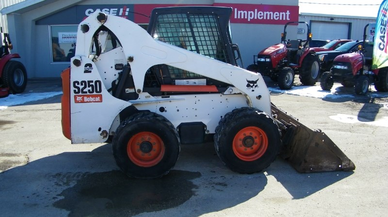 2008 Bobcat S250 Skid Steer For Sale