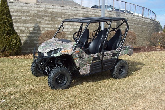 2016 Kawasaki Teryx 4 Camo Utility Vehicle ATV For Sale