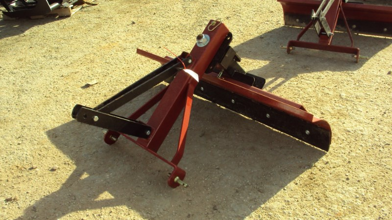 Atlas New 3pt 5' tilt & angle grader blade Blade Rear-3 Point Hitch For Sale