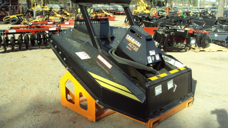 Premier Premier Ammbusher AC720 Super duty brush cutter Skid Steer Attachment For Sale