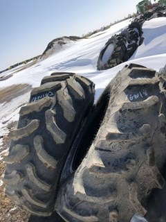 Wheels and Tires For Sale:  Goodyear 420/85R28 Ultra Torque