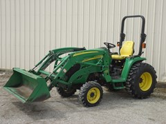 Tractor - Compact For Sale 2005 John Deere 3520-HYD , 37 HP