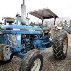 Tractor For Sale 1986 Ford 6610 , 82 HP