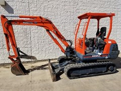 Excavator-Mini For Sale 2001 Kubota KX121-2 , 42 HP
