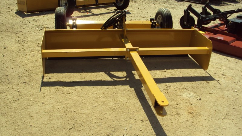 Atlas NEW Heavy duty 8' hydraulic pull type box blade Box Blade Scraper For Sale