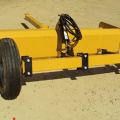 Atlas NEW Heavy duty 8' hydraulic pull type box blade Box