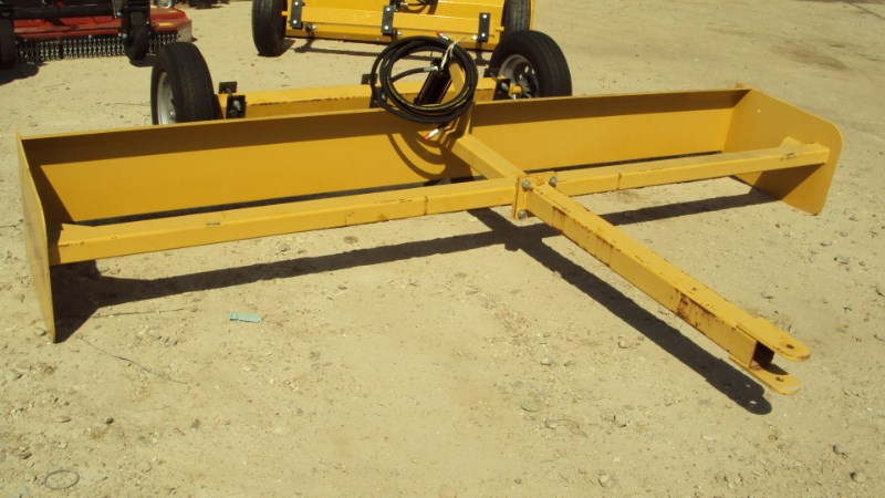 Atlas NEW Heavy duty 12' hydraulic pull type box blade Box