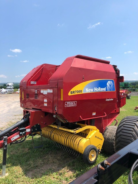 2012 New Holland BR7060 Baler-Round For Sale