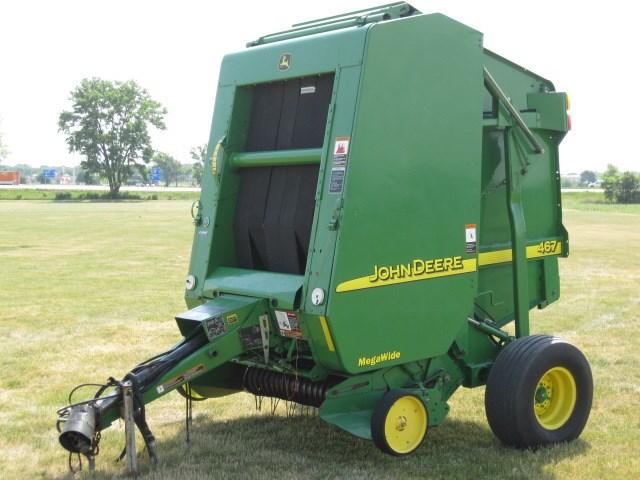 2002 John Deere 467 Baler-Round For Sale » AHW, LLC Export