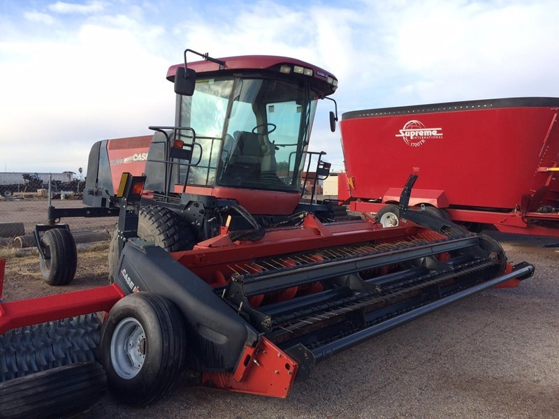 2009 Case IH WD1203 Mower Conditioner For Sale