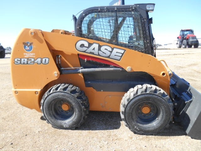 2017 Case SR240 Skid Steer For Sale