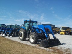Tractor For Sale 2013 New Holland T6.165 , 125 HP