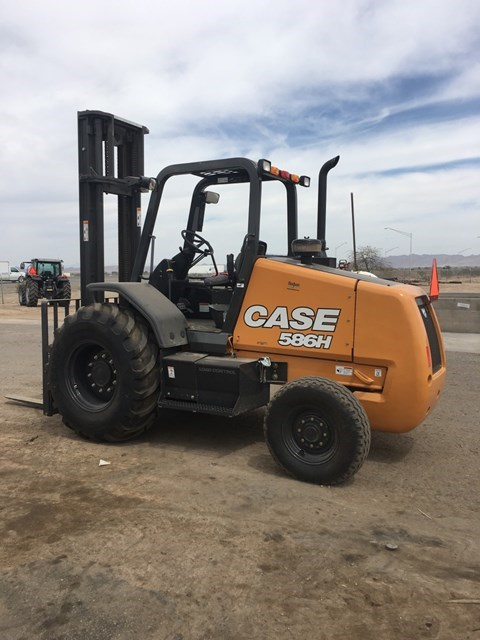 2018 Case 586H Lift Truck/Fork Lift-Rough Terrain