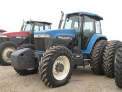 Tractor For Sale 1996 New Holland 8770 , 190 HP