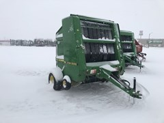 Baler-Round For Sale:  1992 John Deere 535