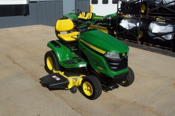 2015 John Deere X360 Riding Mower For Sale