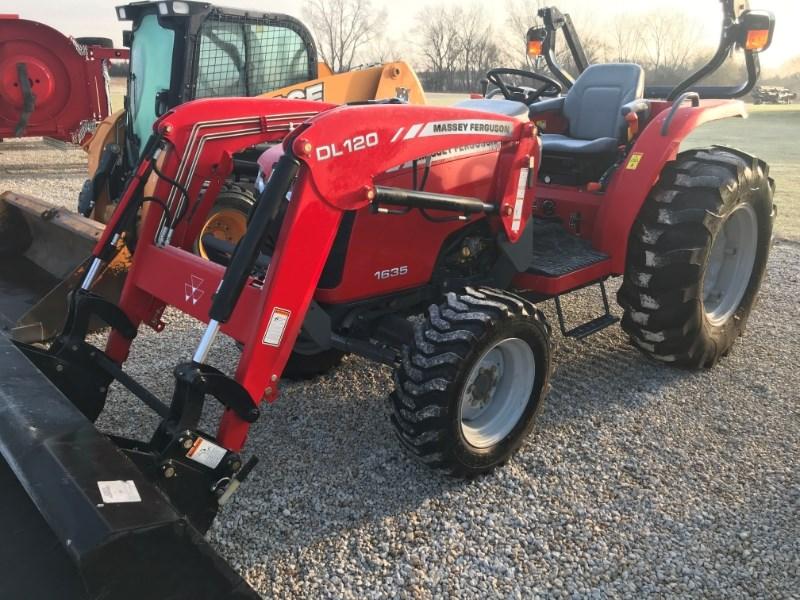 2011 Massey Ferguson 1635 Tractor For Sale