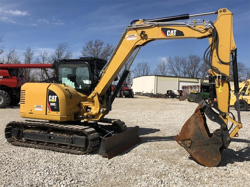 2015 Caterpillar 308E CR Excavator-Track For Sale