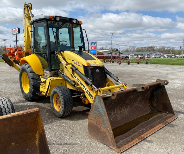 2010 New Holland B95B Loader Backhoe For Sale