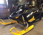Snowmobile For Sale: 2012 Ski-Doo 2012 RENEGADE 600E-TEC BLACK/YELLOW